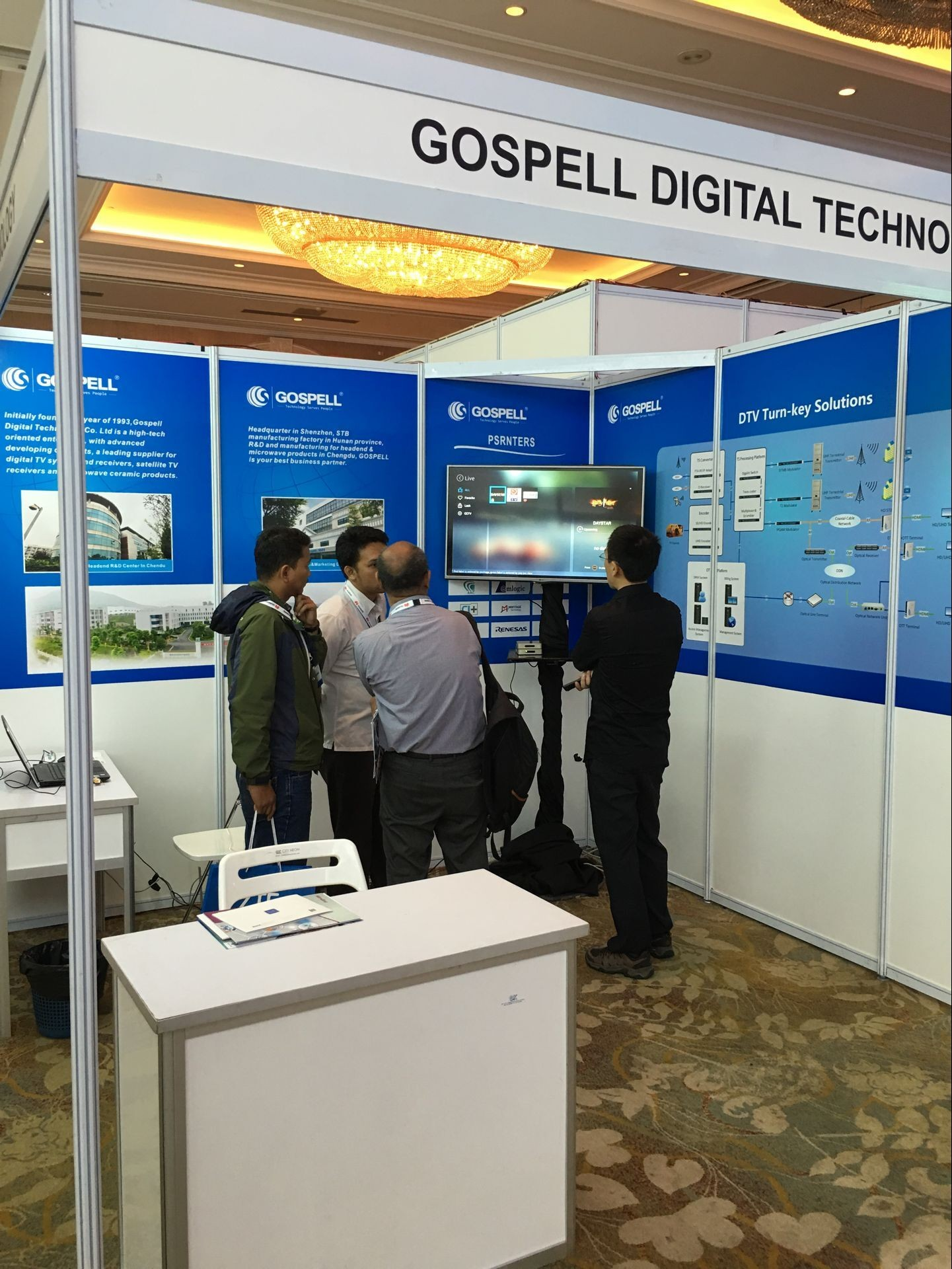 Gospell di 2016 Indonesia Broadband TV Connect